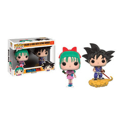 POP! ANIMATION: DRAGONBALL - Bulma & Goku with Flying Nimbus 2 Pack