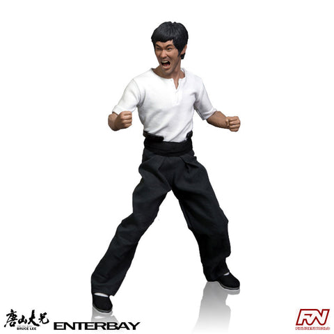 THE BIG BOSS: Bruce Lee 1:6 Scale Real Masterpiece Figure