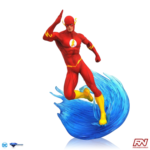 DC COMICS GALLERY: Flash PVC Diorama