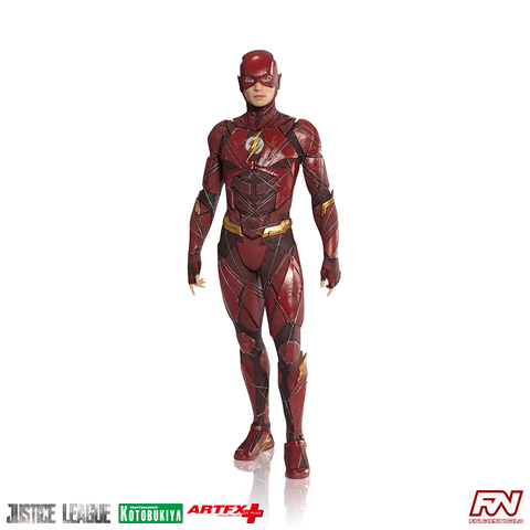 JUSTICE LEAGUE: Flash ArtFX+ PVC Statue