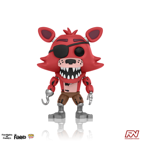 POP! GAMES: FIVE NIGHTS AT FREDDY'S - Foxy the Pirate (#109)