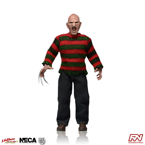 A NIGHTMARE ON ELM STREET 2: Freddy Krueger Clothed 8-Inch Figure