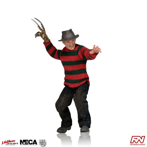 A NIGHTMARE ON ELM STREET 3: Freddy Krueger Clothed 8-Inch Figure