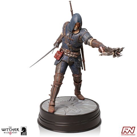 THE WITCHER 3 - WILD HUNT: Geralt Grandmaster Feline Figure