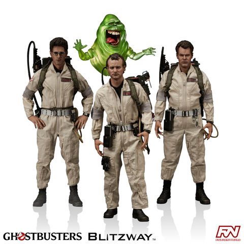 GHOSTBUSTERS 1984 Dr.3 Pack - 1/6th Ultimate Masterpiece Series