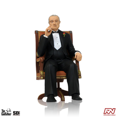 THE GODFATHER: Don Vito Corleone Movie Icons PVC Statue