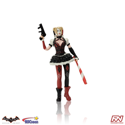 BATMAN: ARKHAM KNIGHT: Harley Quinn Bendable Figure