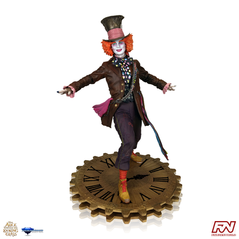ALICE THROUGH THE LOOKING GLASS GALLERY: Mad Hatter PVC Figure