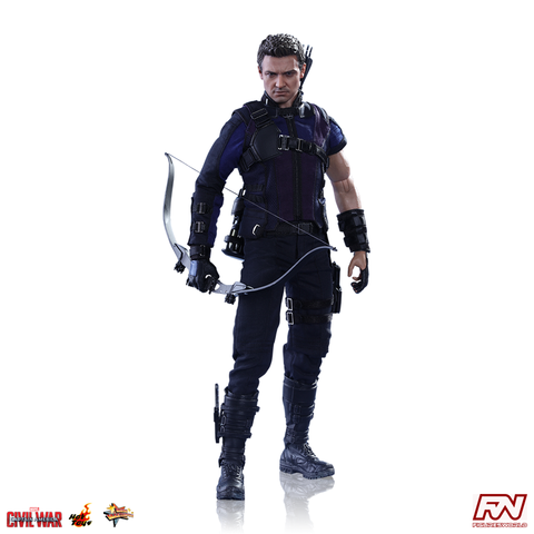 CAPTAIN AMERICA: CIVIL WAR: Hawkeye 1:6 Scale Movie Masterpiece Figure
