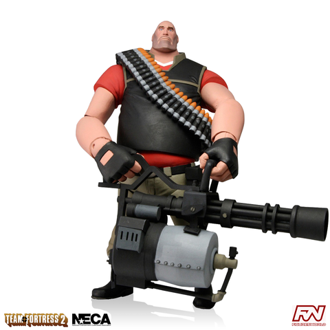 Team Fortress 2: RED Heavy 7-Inch Scale Deluxe Action Figure
