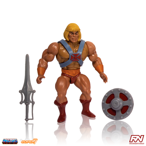 MASTERS OF THE UNIVERSE: Vintage Collection He-Man 5.5-Inch Action Figure