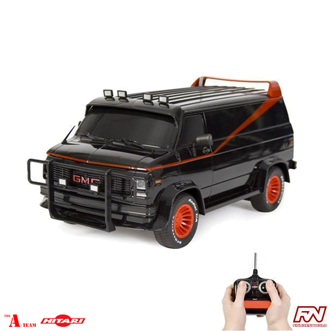 THE A-TEAM: GMC Vendura Van 1:15 Scale Radio Control Car Replica