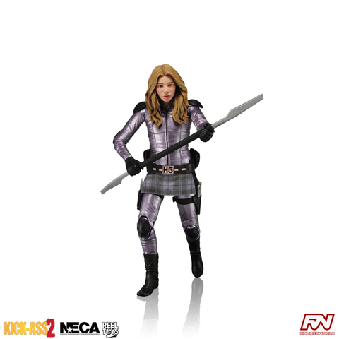 KICK-ASS 2: SERIES 2 - Unmasked Hit-Girl Action Figure