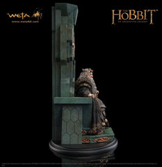 THE HOBBIT: King Thror on Throne Statue
