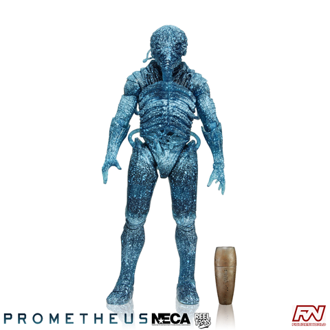 PROMETHEUS: Series 3 Holographic Engineer (Chair Suit) 7-Inch Scale Deluxe Action Figure