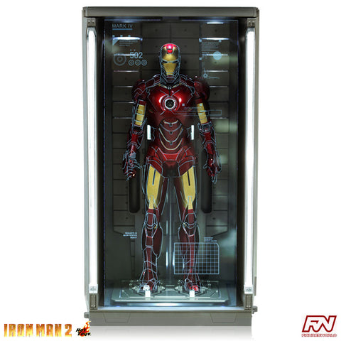 IRON MAN 2: Hall of Armor (Set of 4) 1:6 Scale Collectible