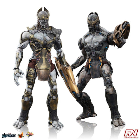 THE AVENGERS: Chitauri Commander and Chitauri Commander 1:6 Scale Movie Masterpiece Figure Set