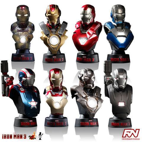 IRON MAN 3: Deluxe Set 1:6 Scale Collectible Bust