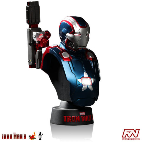 IRON MAN 3: Iron Patriot 1:6 Scale Collectible Bust
