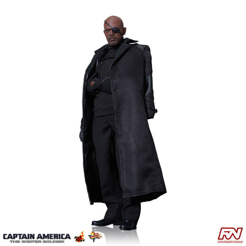 CAPTAIN AMERICA: THE WINTER SOLDIER: Nick Fury 1:6 Scale Movie Masterpiece Figure