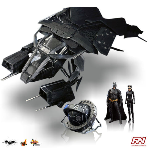 THE DARK KNIGHT RISES: The Bat 1:12 Scale Deluxe Collectible Set
