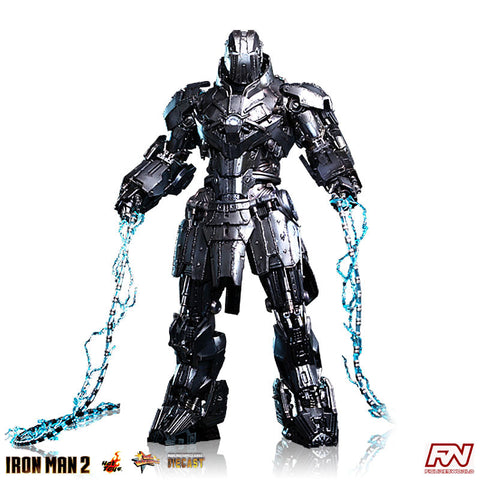 IRON MAN 2: Whiplash Mark II 1:6 Scale Diecast Movie Masterpiece Figure