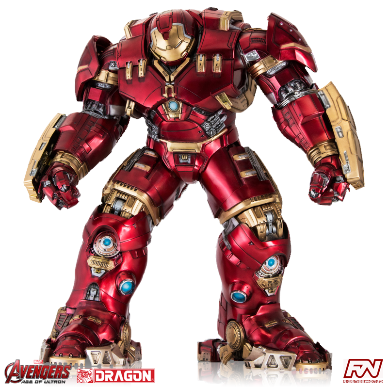 AVENGERS: AGE OF ULTRON Hulkbuster 1/9 Action Hero Vignette