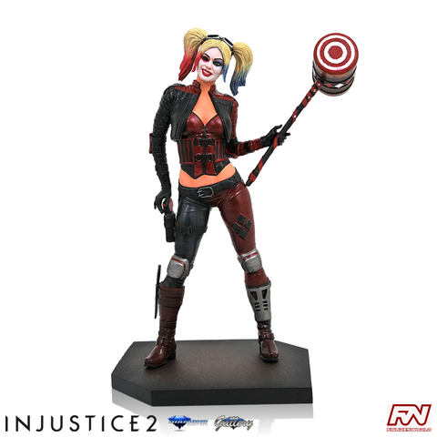 DC VIDEO GAME GALLERY: INJUSTICE 2 Harley Quinn PVC Diorama