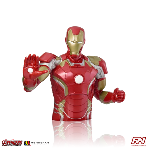 THE AVENGERS: AGE OF ULTRON Iron Man Bust Bank