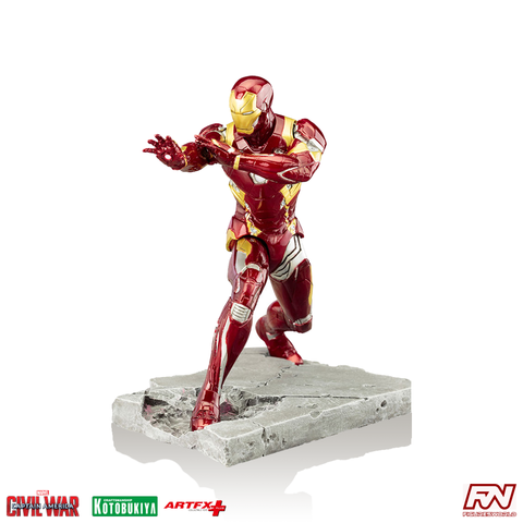 CAPTAIN AMERICA: CIVIL WAR: Iron Man ArtFX+ PVC Statue