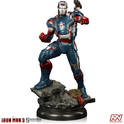 IRON MAN 3: Iron Patriot Maquette