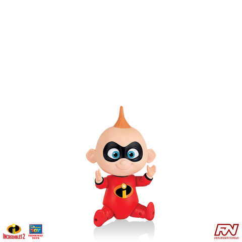INCREDIBLES 2: Jack-Jack Talking Action Figure