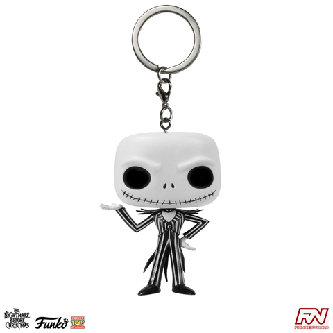 POCKET POP! KEYCHAIN: NBC - Jack Skellington