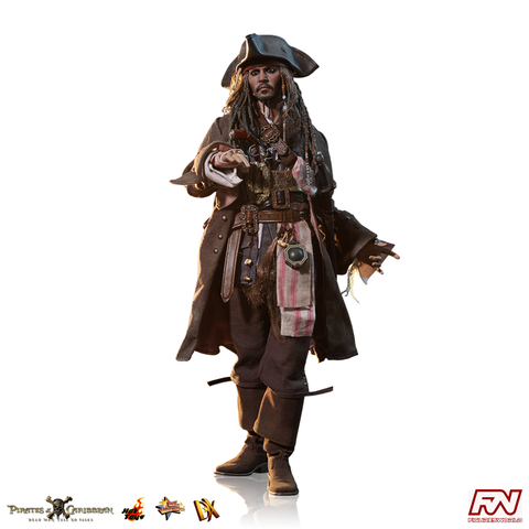 PRE-ORDER: POTC: Dead Men Tell No Tales - Jack Sparrow 1:6 Scale Deluxe Movie Masterpiece Figure