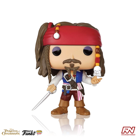 POP! MOVIES: PIRATES OF THE CARIBBEAN - Captain Jack Sparrow (#172)