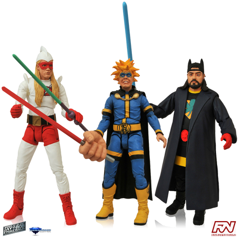 JAY AND SILENT BOB STRIKE BACK SELECT: Action Figure Set
