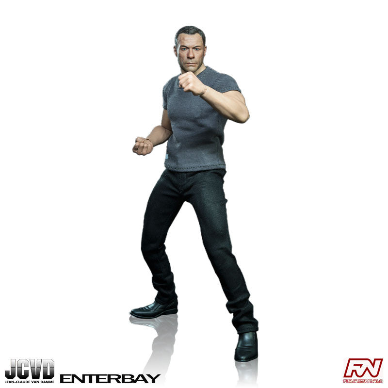 Jean-Claude Van Damme 1:6 Scale Real Masterpiece Figure