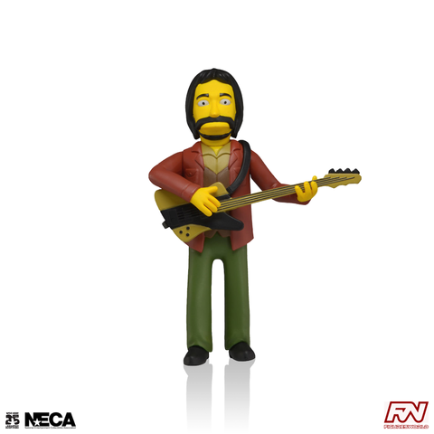 THE SIMPSONS 25th ANNIVERSARY: John Entwistle (The Who) Collectible Action Figure