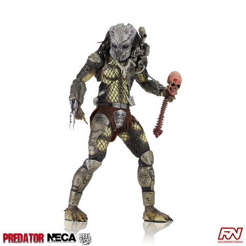 "PREDATOR 30th Anniversary - Jungle Hunter Masked (Prototype) 7"" Scale Action Figure"