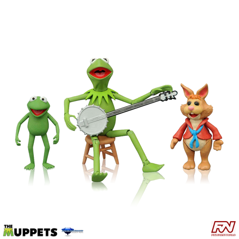 THE MUPPETS SELECT: Series 1 Kermit & Bean Action Figure Set