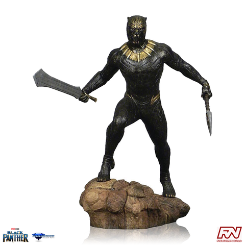 MARVEL MOVIE GALLERY: BLACK PANTHER Killmonger PVC Diorama