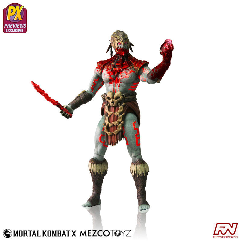 "MORTAL KOMBAT X: Kotal Khan ""Blood God"" Variant Exclusive Action Figure"