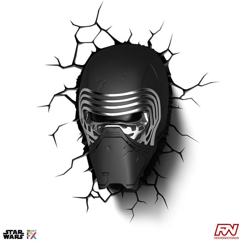 STAR WARS: Kylo Ren 3D Deco Light