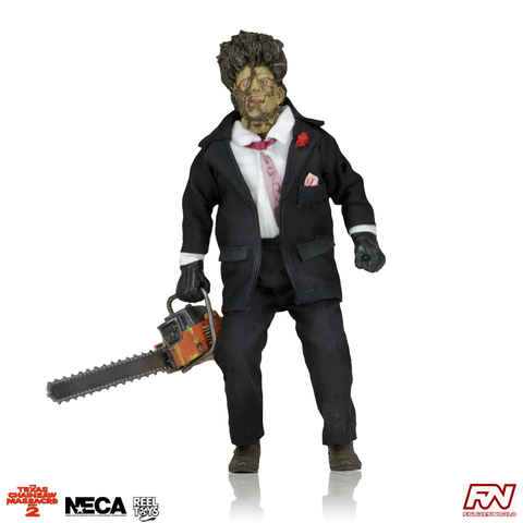 TEXAS CHAINSAW MASSACRE 2: Leatherface 8-Inch Clothed Figure