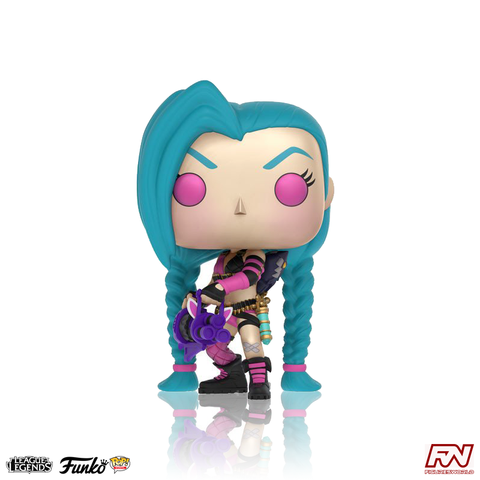 POP! GAMES: LEAGUE OF LEGENDS - Jinx (#05)