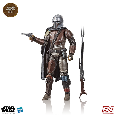 "STAR WARS: The Black Series Carbonized Collection The Mandalorian Exclusive 6"" Action Figure"