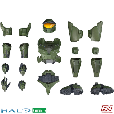 HALO: Mark V Armor for Master Chief ArtFX+ Statue