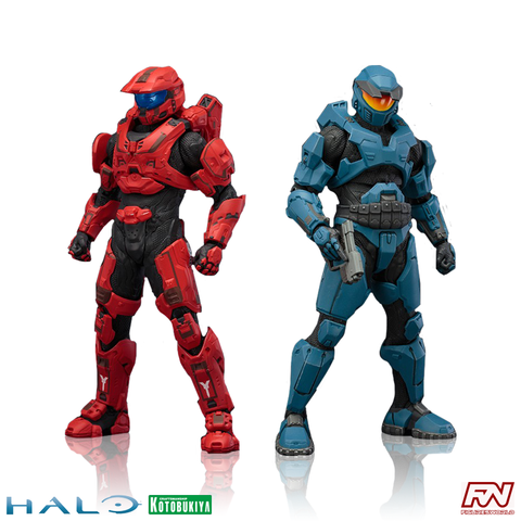 HALO: Mjolnir Mark V & Mark VI 2-Pack ArtFX+ Statue Set