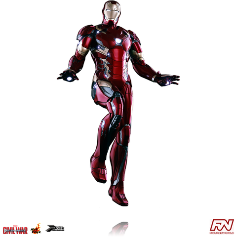 CAPTAIN AMERICA: CIVIL WAR: Iron Man Mark XLVI 1:6 Scale Power Pose Figure