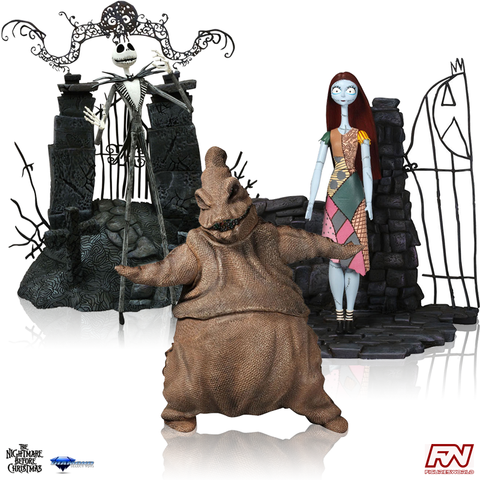 THE NIGHTMARE BEFORE CHRISTMAS SELECT: Action Figure Series 1